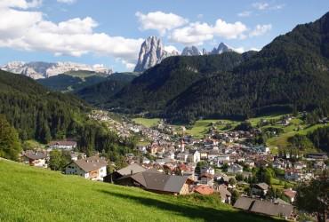 Fahrt durch die Dolomiten