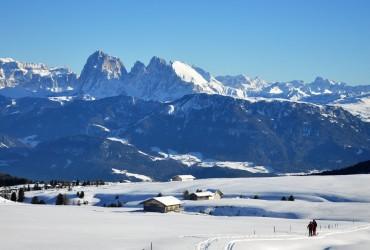 Villanderer Alm Schneeschuhwanderung