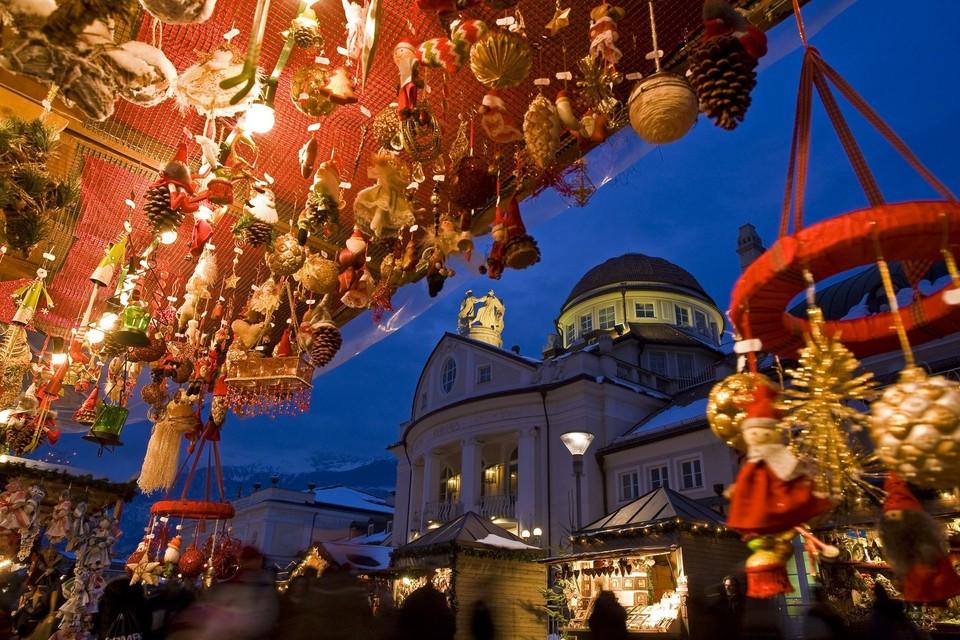 Mercatino Natale Merano Alto Adige